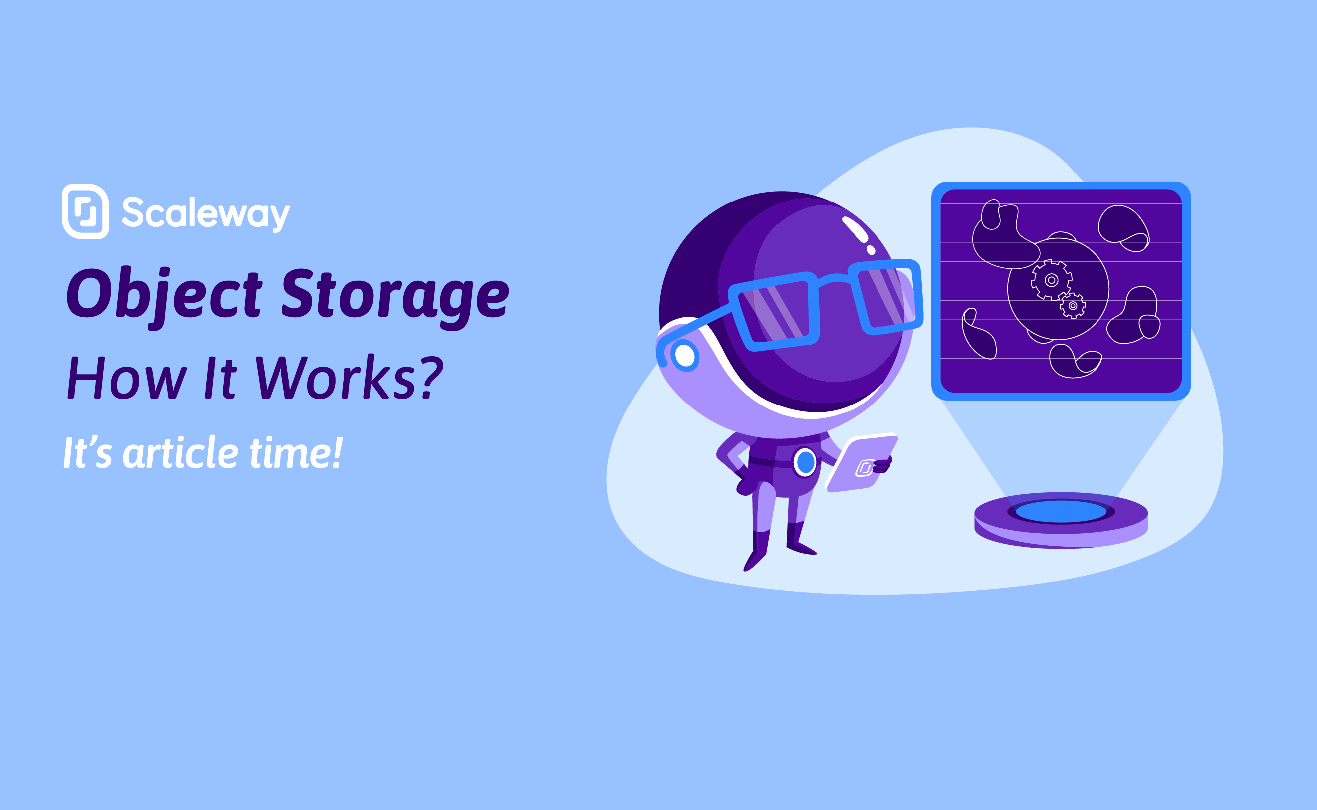 Object Storage - How It Works? (2/3)